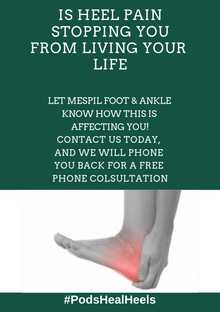 Is heel Pain Stopping you From living your life (1)